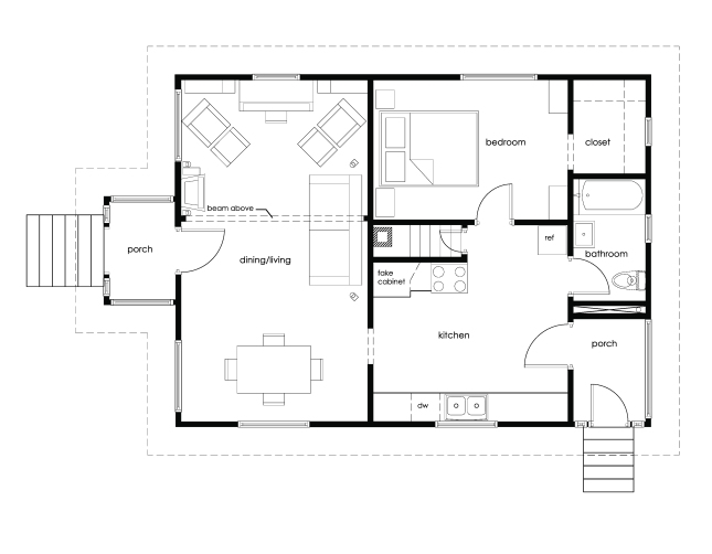 storage building plans 14x20